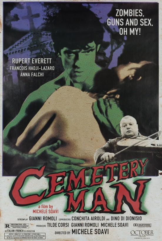 cemetary man poster