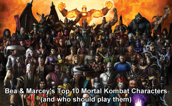 Bea S Top 10 Mortal Kombat Characters And Who Should Play Them