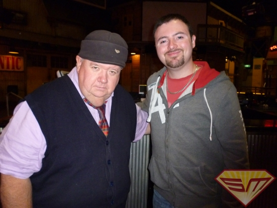Ian McNeice with Bede Jermyn