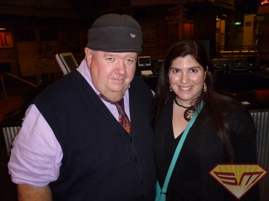IanMcNeice with Super Marcey