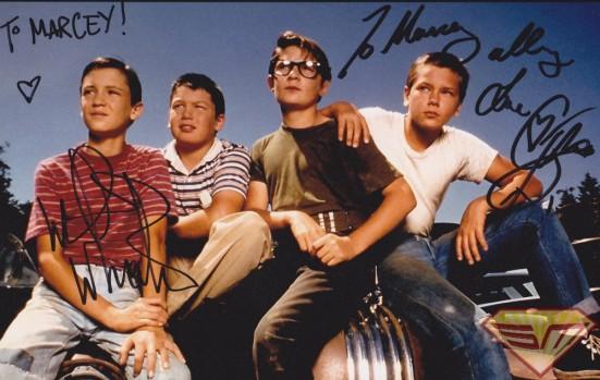 Wil Wheaton Corey Feldman Autograph
