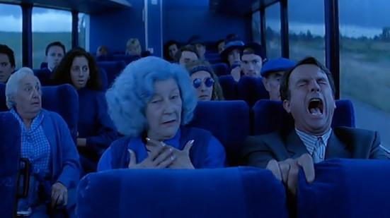 blue bus trip