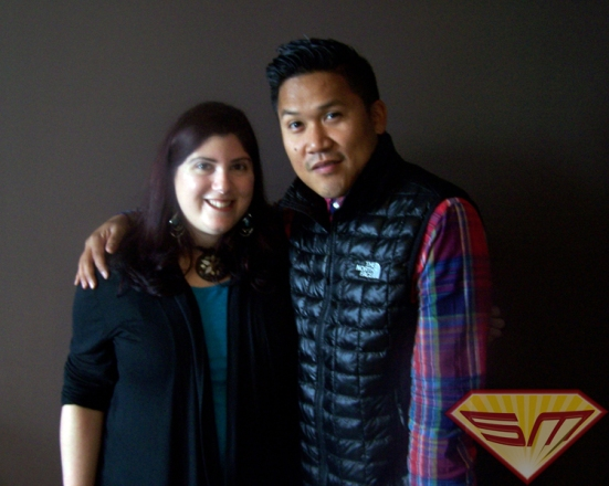 Marcey and Dante Basco