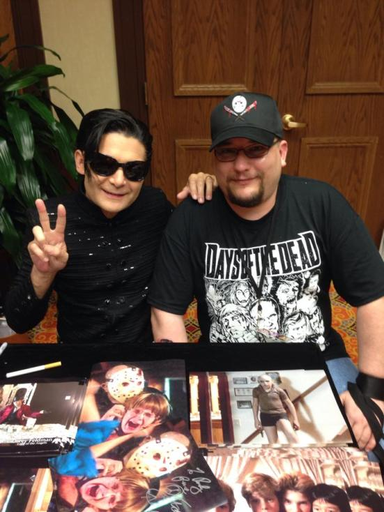 Me and Corey Feldman