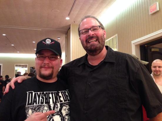 Me and Kevin Tenney