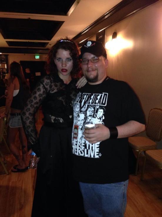 Me and Victoria Nightshade