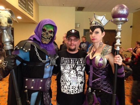 Skeletor and Evil Lynn