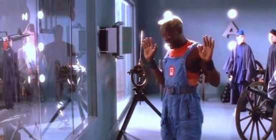 Demolition man dungarees
