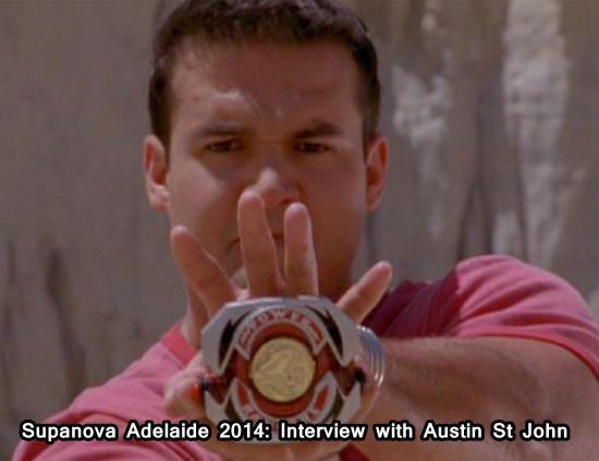 Supanova Adelaide 2014 Interview With Austin St John Original Red Power Ranger The Super Network