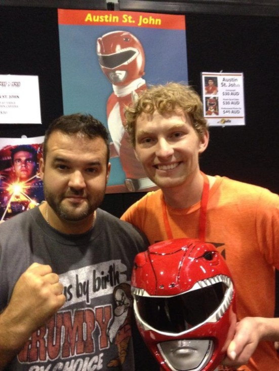 Chris and Austin St John