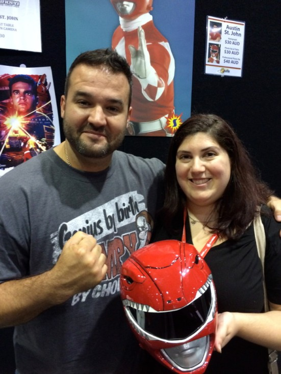 Marcey and Austin St John