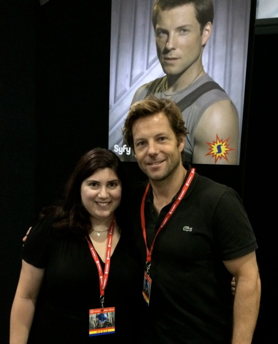 Marcey and Jamie Bamber