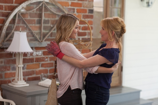 Lea-Thompson-and-Cassi-Thomson-in-Left-Behind-2014-Movie-Image