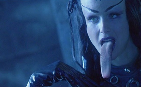 battlefield-earth-kelly-preston-long-tongue-scene
