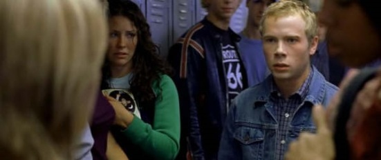 That moment when you realise that LOST star Evangeline Lilly was a background extra in a scene in FREDDY VS. JASON