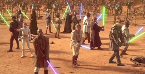 Despite what most people say, we believe that there are a lot of things that work about Attack Of The Clones. However we do agree that the romance isn't one of them.