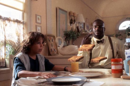 KAZAAM, Francis Capra, Shaquille O'Neal, 1996, (c)Buena Vista Pictures