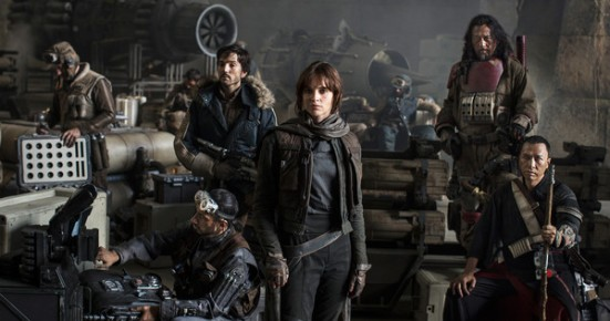 What?! Another STAR WARS film already?! And it's a spin-off?! Who cares! We're still excited for ROGUE ONE: A STAR WARS STORY!
