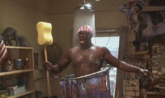Shaq Shower