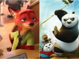 [Video Reviews] Zootopia (2016) and Kung Fu Panda 3 (2016) by Bede Jermyn