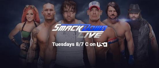 Smackdown Live Banner